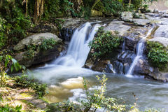 Wachirathan waterfall, Doi Inthanon National Park in Chiang Mai, Stock Photos