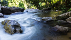 Wachirathan waterfall, Doi Inthanon National Park in Chiang Mai, Stock Photography