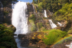 Wachirathan Waterfall Royalty Free Stock Photography