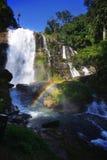 Wachirathan waterfalls. At doi inthanon, chiang mai, thailand Stock Image