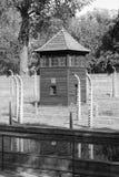 Wachkasten an Auschwitz-Konzentrationslager Lizenzfreies Stockbild