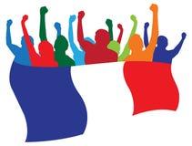 wachluje France ilustrację Fotografia Royalty Free