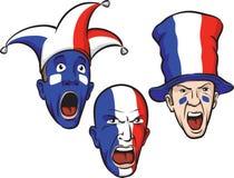wachluje futbolowego France ilustracja wektor