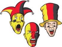wachluje futbolowego Germany ilustracji