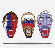 wachluje futbolowego Russia ilustracja wektor