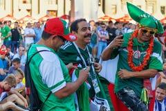 Wachluje strefę, Samara, Rosja, Czerwiec 30, 2018 FIFA puchar świata, festiwal Zdjęcie Stock