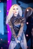 Wachs figur von Madonna Stockfoto