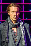 Wachs-Museum Johnny Depp Figurine At Madames Tussaud Stockfotos