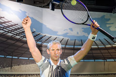 Wachs-Museum Thomas Muster Figurine At Madames Tussauds Stockbild