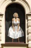 Wachsabbildung von Marilyn Monroe Lizenzfreies Stockbild