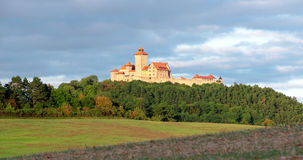 Wachsenburg城堡,图林根州,德国 免版税库存图片