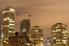 Wachsende Skyline Stockbild