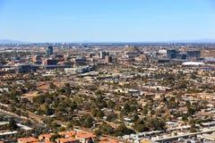 Wachsende Skyline von Tempe, Arizona lizenzfreie stockfotografie
