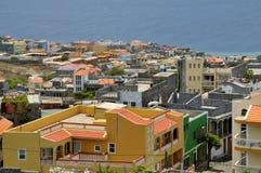 Wachsende Stadt in Cabo Verde Lizenzfreie Stockbilder
