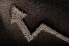 Wachsender Tendenzpfeil des handgemachten Eisens Stockfoto