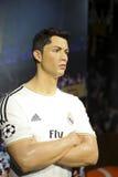 Wachsfigur Cristiano Ronaldo Lizenzfreies Stockbild