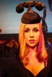 Wachsfigur von Dame Gaga in Madame Tussauds Museum lizenzfreies stockbild