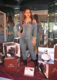 Wachsfigur von Jennifer Lopez lizenzfreie stockbilder
