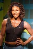 Wachsfigur Williams Serena Porträt lizenzfreie stockfotografie