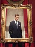 Wachsstatue Prinzen William Lizenzfreies Stockbild