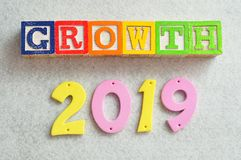 Wachstum 2019 Lizenzfreie Stockbilder