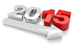 Wachstum 2015 Lizenzfreies Stockfoto
