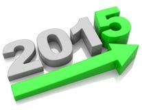 Wachstum 2015 Lizenzfreies Stockbild