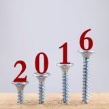 Wachstum 2016 Lizenzfreie Stockfotografie