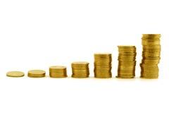 Wachstum des Kapitals. getrenntes 1 Stockbild