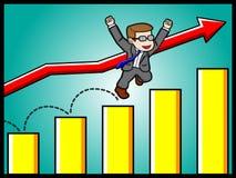 Wachstum und Erfolg Stockfoto