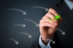 Wachstum und Erfolg lizenzfreies stockfoto