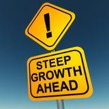 Wachstum voran Stockfotografie