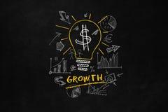 Wachstums-Konzept für Geschäft Stockfotos