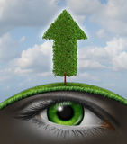 Wachstums-Vision stock abbildung