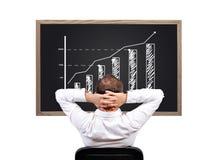 Wachstumsholzkohle Lizenzfreie Stockfotos