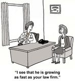 Wachstumsschub Lizenzfreie Stockfotos