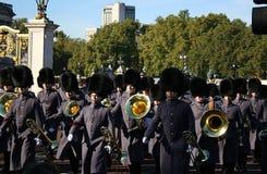 Wacht Ceremony, Buckingham Palace Stock Afbeelding