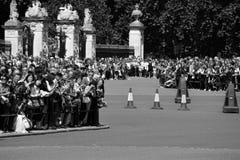 Wacht Changing Ceremony, Londen Stock Fotografie