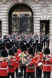 Wacht die, Londen verandert Royalty-vrije Stock Foto's
