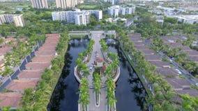 Wacht House aan Gemeenschap de Met poorten van Florida Royalty-vrije Stock Foto's