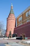 Wacht van eer bij het graf van de Onbekende Militair, Moskou, Rusland Stock Afbeeldingen
