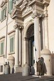 Wacht van Eer in Rome stock afbeelding