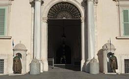 Wacht van Eer in Rome stock fotografie