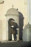 Wacht van Eer in Rome royalty-vrije stock foto's