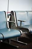 Wachtend gebied bij een luchthaven stock afbeelding