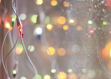Wachtend op Kerstmis, de winter, nieuw jaar Stock Fotografie