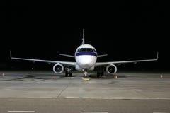 Wachtend vliegtuig Stock Foto