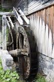 Wachterbach watermill, Lesach dal, Österrike Arkivfoto
