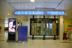 Wachtkamer bij Tan Son Nhat-luchthaven, Vietnam stock foto