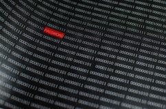 wachtwoordtekst Stock Fotografie